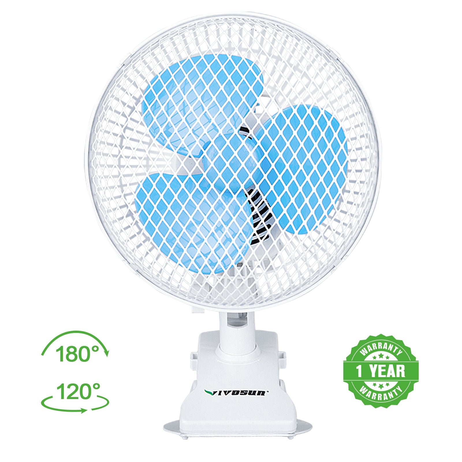 VIVOSUN Clip-On Grow Tent Desk Fan - VIVOSUN