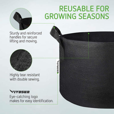 Grow Bags Black - VIVOSUN