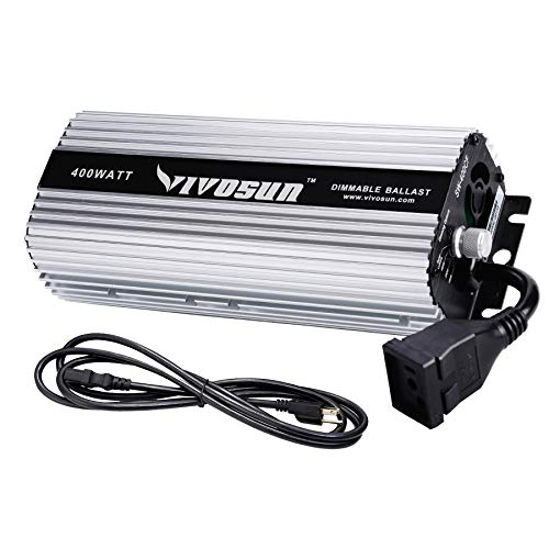 VIVOSUN 400 watt Dimmable Digital Ballast for HPS MH Grow Light - VIVOSUN