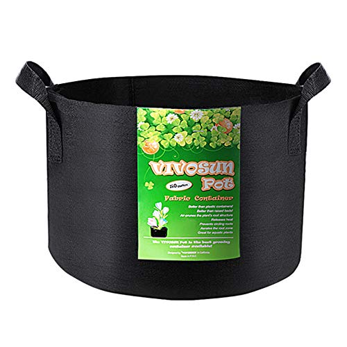 VIVOSUN Grow Bags Black Multi-Gallon 1-pack - VIVOSUN