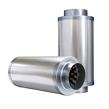 VIVOSUN 8 Inch Noise Reducer Silencer for Inline Duct Fan - VIVOSUN