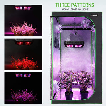 VIVOSUN 4x4 Grow Tent + 600W LED Grow Light Combo Kit - VIVOSUN