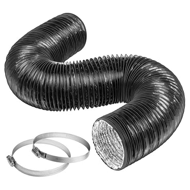 VIVOSUN Black Non-Insulated Flex Air Aluminum Ducting - VIVOSUN