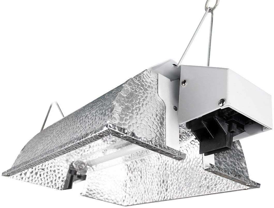 VIVOSUN Compact Reflector Hood for Double Ended HPS Lamps - VIVOSUN