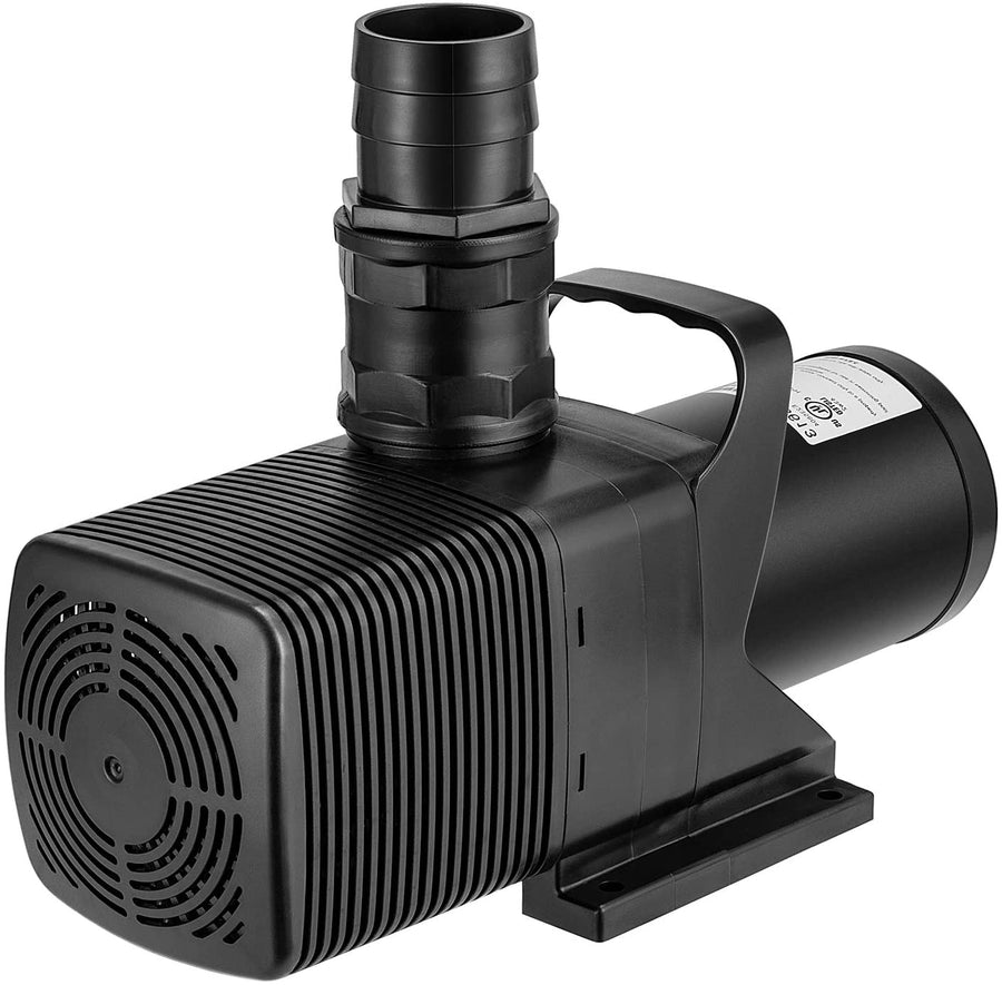 VIVOSUN 3567 GPH Submersible Water Pump 130W Ultra Quiet Pump with 20.3ft Power Cord High Lift for Pond Waterfall Fish Tank Statuary Hydroponic