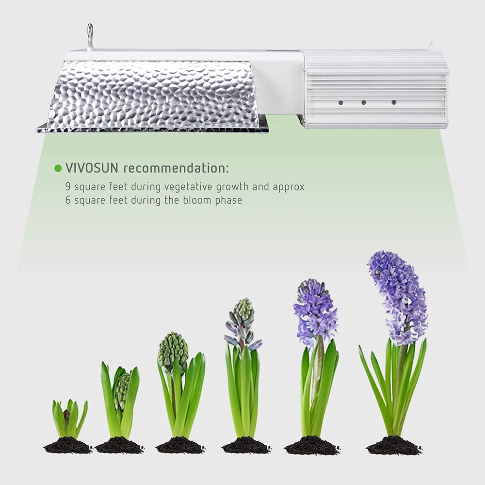 VIVOSUN 315W Ceramic Metal Halide CMH/CDM Grow Light Fixture - VIVOSUN