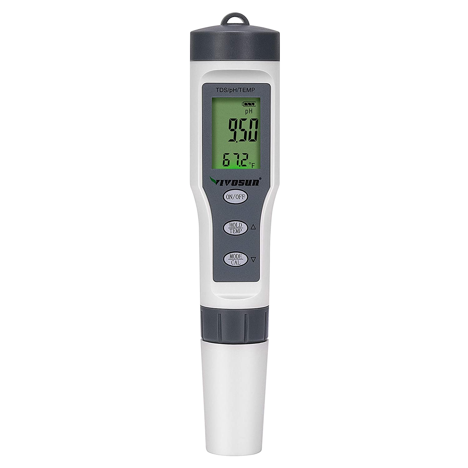 VIVOSUN pH Meter Digital 3-in-1 - VIVOSUN