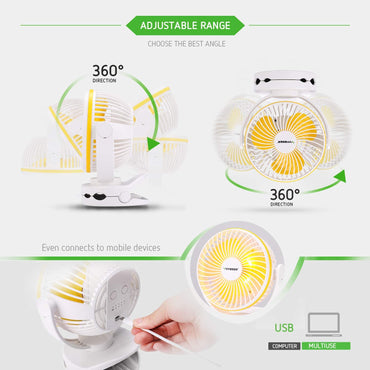 VIVOSUN USB Powered Clip Fan - VIVOSUN