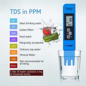 VIVOSUN PH/TDS Meter Digital Tester Pen for Water