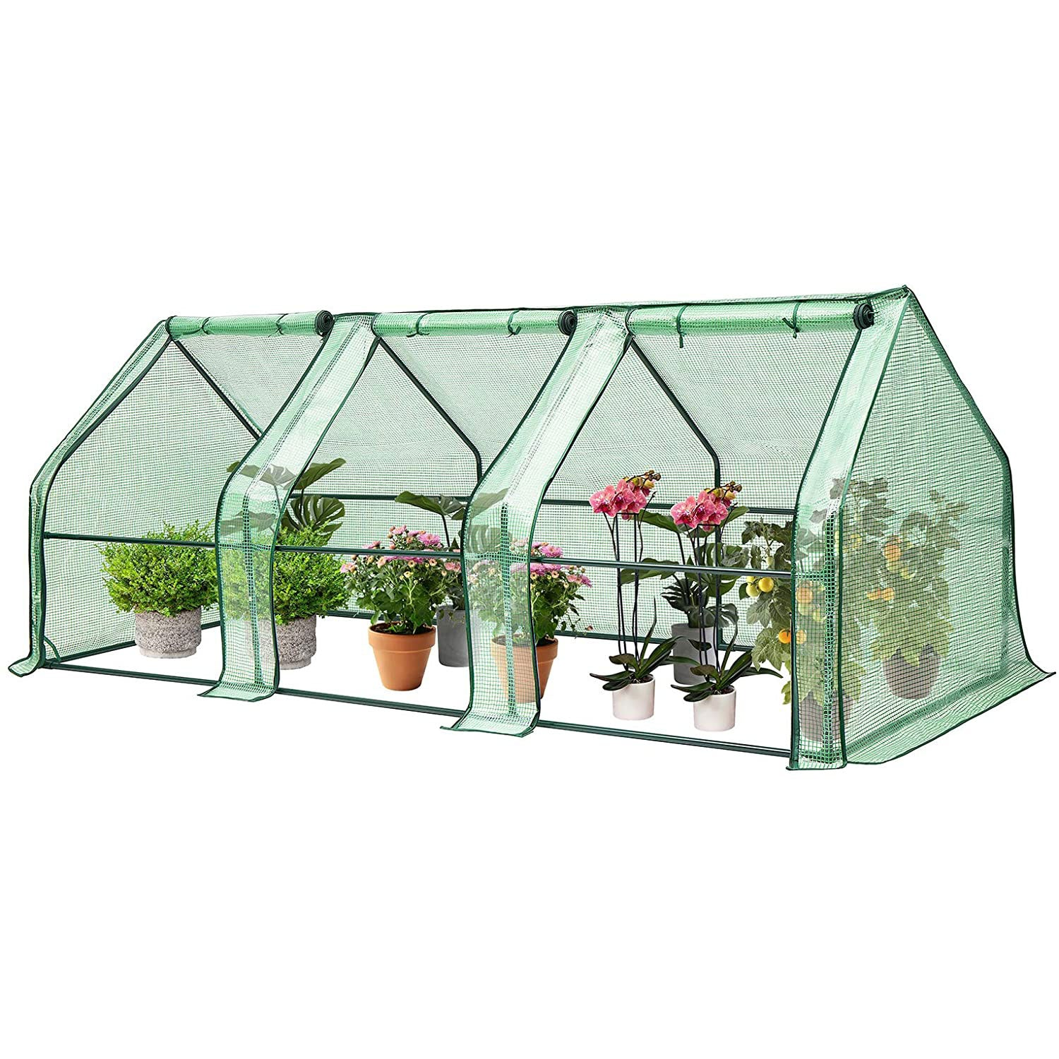 VIVOSUN Portable Greenhouse with Roll-up Large Door 94.5
