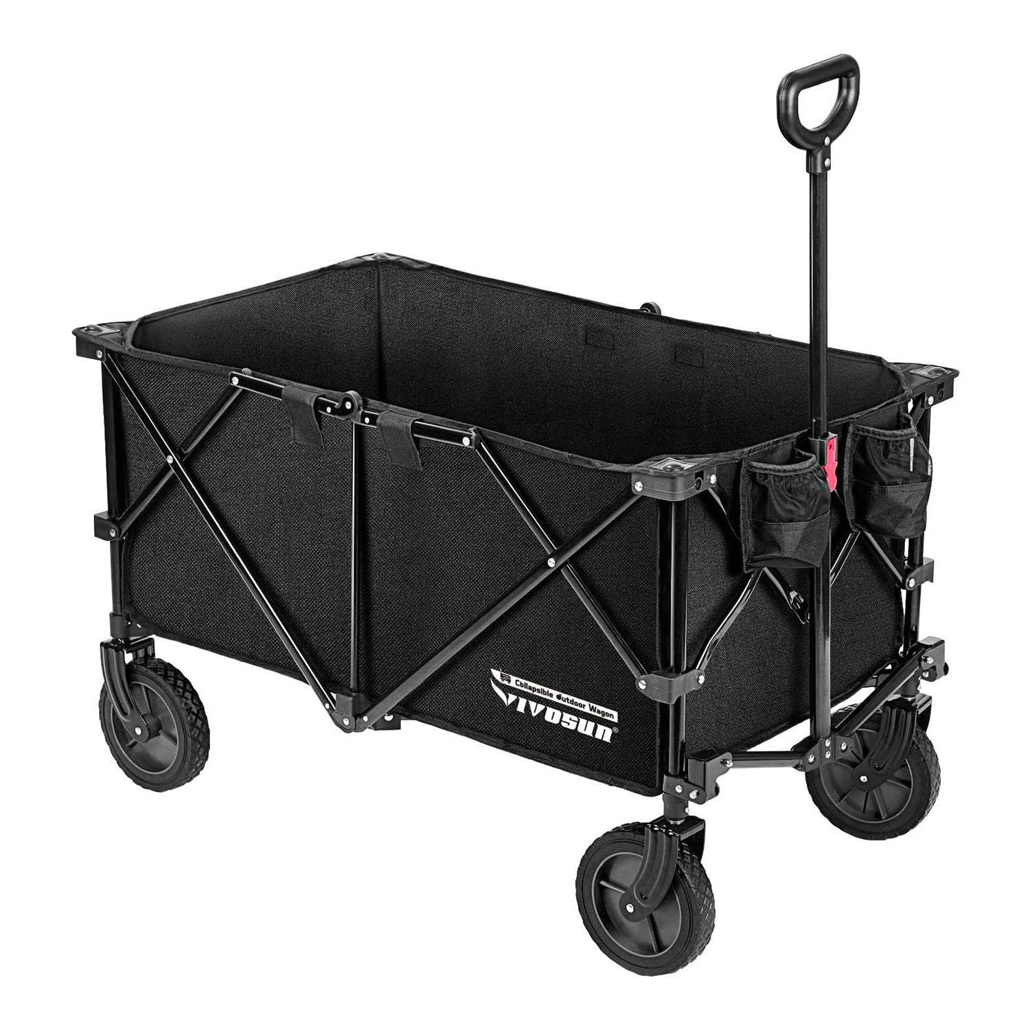 VIVOSUN Heavy Duty Collapsible Folding Wagon - VIVOSUN