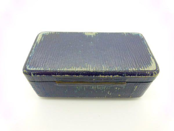 Antique wrist watch box c1900-1920's