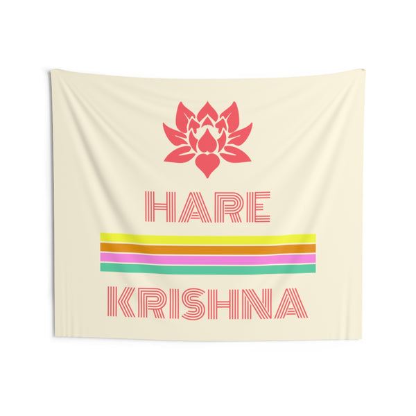 Hare Krishna Indoor Wall Tapestries - DaVatka Fashion