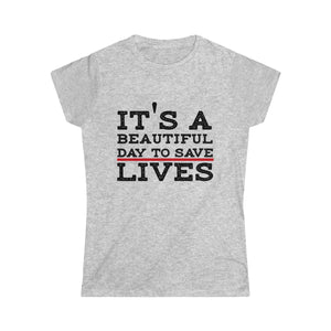 Greys Anatomy Women's Softstyle Tee TS - DaVatka Fashion