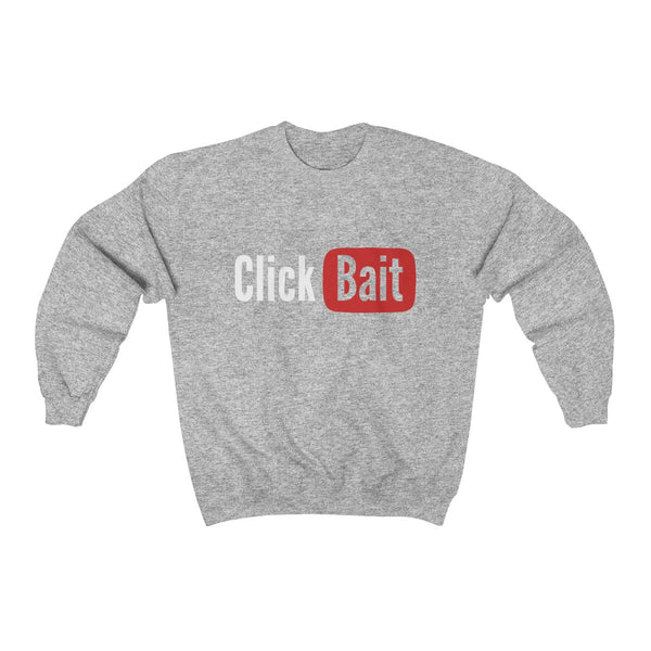 Clickbait Unisex Heavy Blend™ Crewneck Sweatshirt ML - DaVatka Fashion