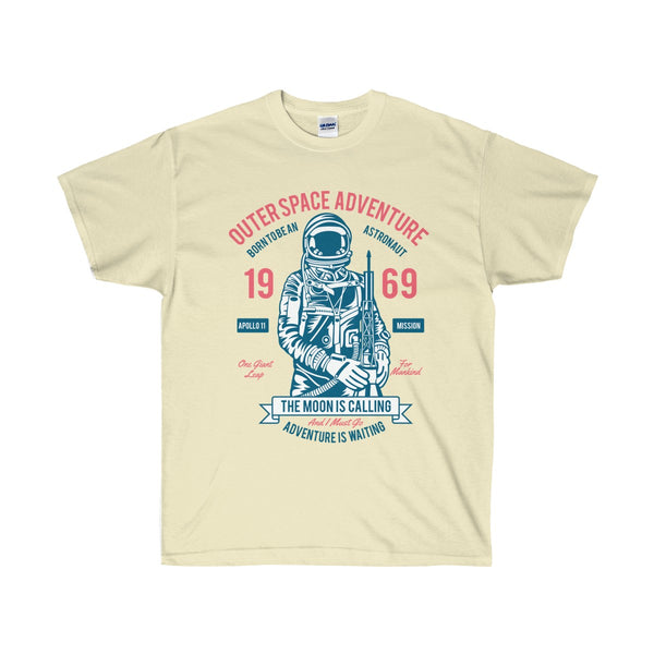 Outer Space Adventure Unisex Ultra Cotton Tee - DaVatka Fashion