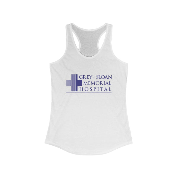 Grey Sloan Women's Ideal Racerback Tank - DaVatka Fashion