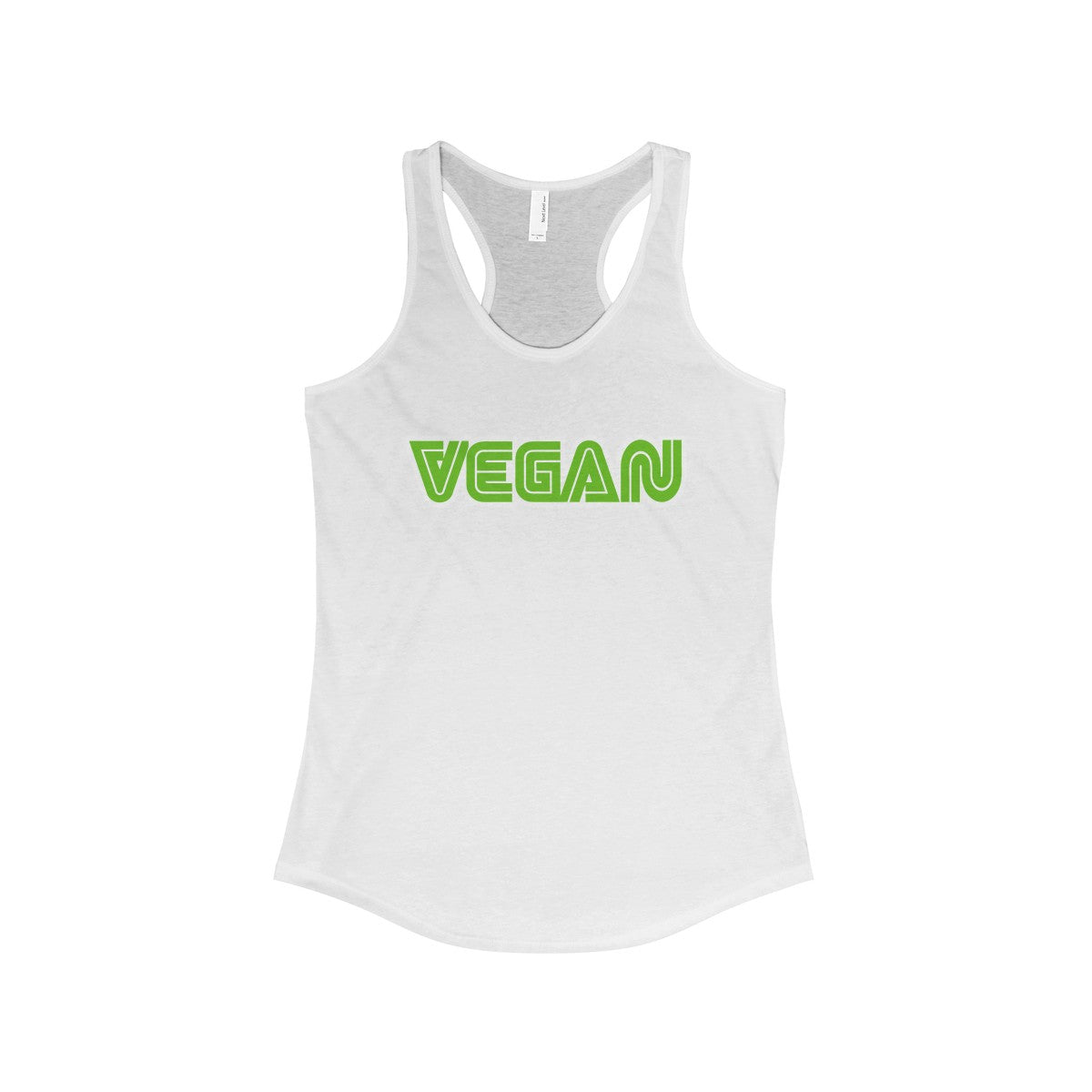 Vegan Sega Style Women's Ideal Racerback Tank - DaVatka Fashion