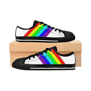 Gay Pride Men's Sneakers - DaVatka Fashion