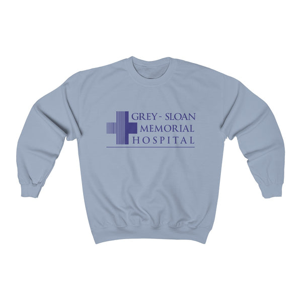 Grey Sloan Memorial Unisex Heavy Blend™ Crewneck Sweatshirt - DaVatka Fashion