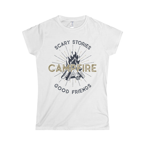 Campfire Women's Softstyle Tee - DaVatka Fashion