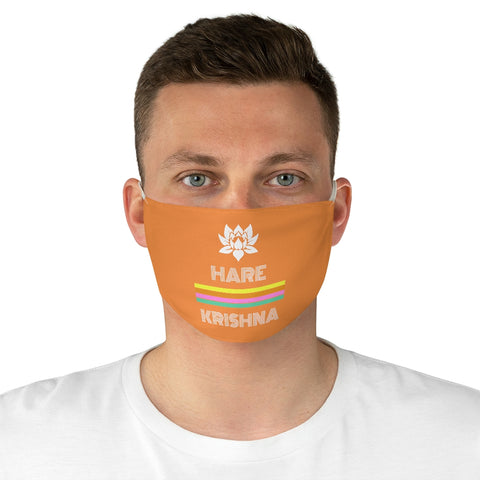 Hare Krishna Fabric Face Mask