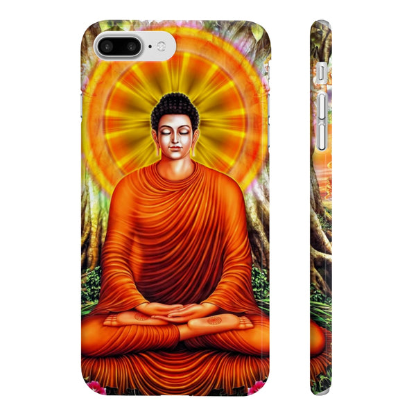 Buddha Samadhi Slim Phone Cases - DaVatka Fashion