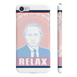 Putin Relax Slim Phone Cases - DaVatka Fashion