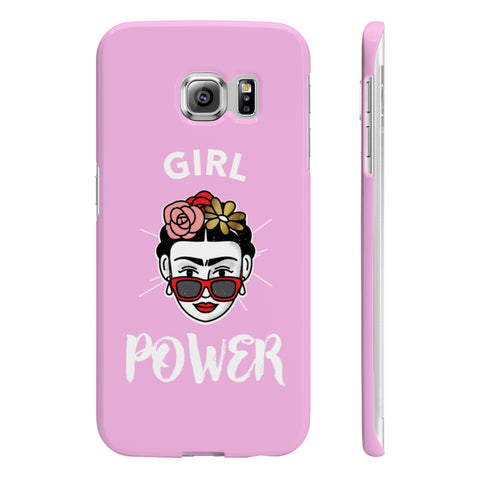Girl Power Feminist Frida Kahlo Slim Phone Cases for iPhone and Samsung - DaVatka Fashion