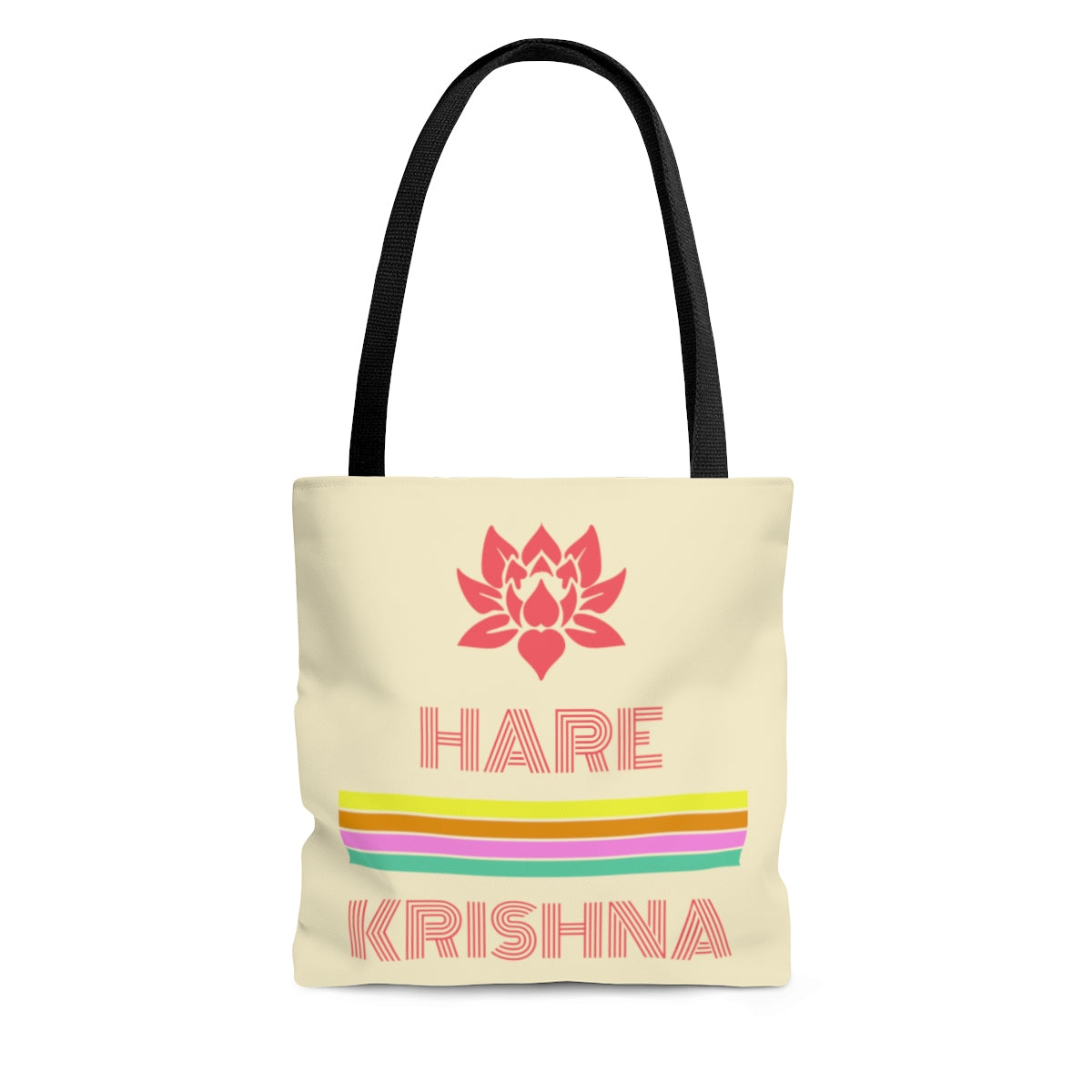 Hare Krishna AOP Tote Bag - DaVatka Fashion