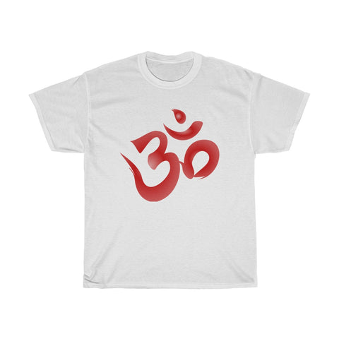 Ohm Symbol Unisex Heavy Cotton Tee - DaVatka Fashion