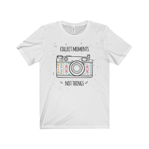 Collect Moments Photography Fan Unisex Jersey Short Sleeve Tee - DaVatka Fashion
