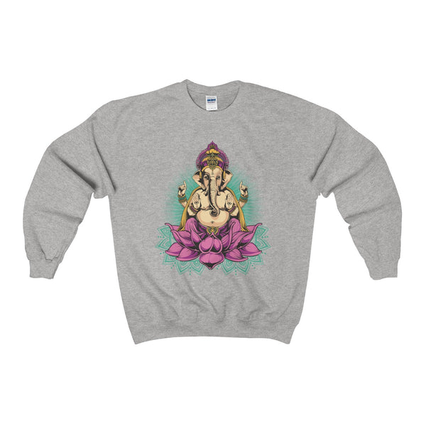 Ganesha Unisex Heavy Blend™ Crewneck Sweatshirt - DaVatka Fashion