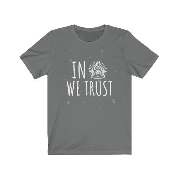 In Pizza We Trust - Pizza Lovers Unisex Jersey Short Sleeve Tee TS - DaVatka Fashion