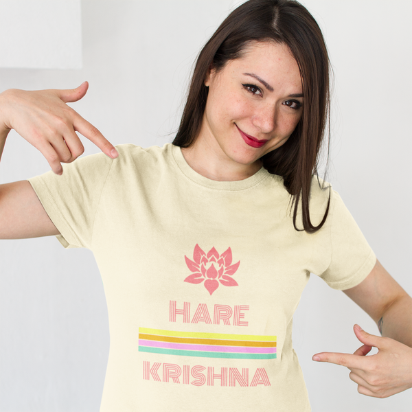 Hare Krishna Men's Unisex Jersey Short Sleeve Tee - DaVatka Fashion