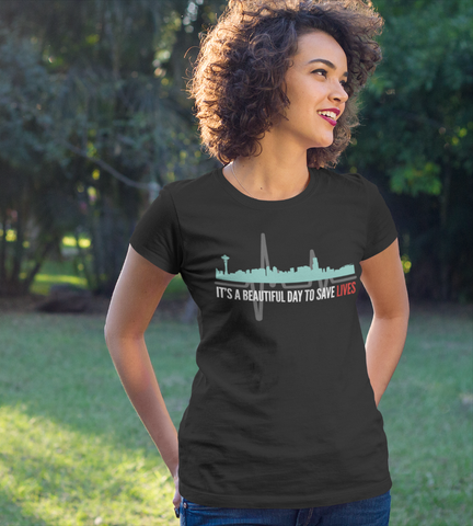 Beautiful Day To Save Lives Women's Softstyle Tee TS - DaVatka Fashion