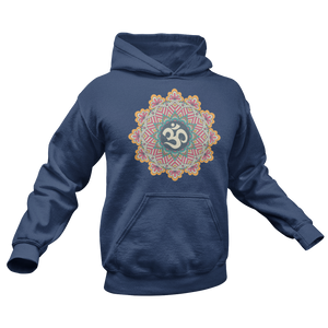 Sri Ohm Mandala Unisex College Hoodie - DaVatka Fashion