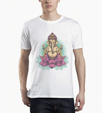 Ganesha Men's T-shirt - DaVatka Fashion
