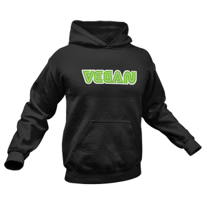 Vegan Logo Sega Style Unisex Heavy Blend™ Hooded Sweatshirt - DaVatka Fashion