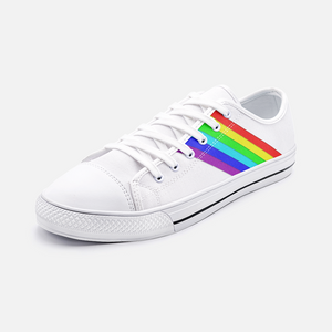 Gay Pride Unisex Low Top Canvas Shoes