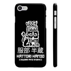 Hattori Hanzo Slim Phone Cases - DaVatka Fashion