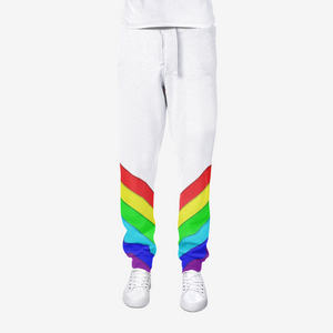 Gay Pride All-Over Print men's joggers sweatpants