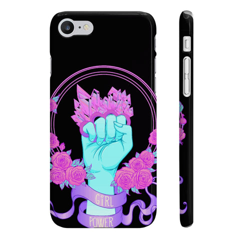 Girl Power Slim Phone Cases - DaVatka Fashion