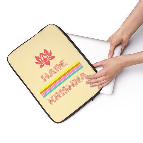 Hare Krishna Laptop Sleeve - DaVatka Fashion