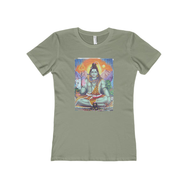 Shiva Women's The Boyfriend Tee - DaVatka Fashion