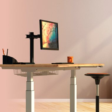 Single desks - Sit-Stand desks, Height Adjustable desks, Sit Stand