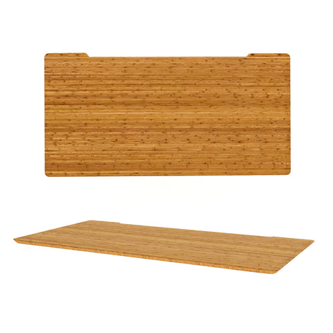 Bamboo Rectangle Table Top Shark Nose Profile