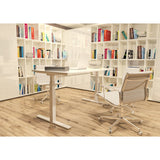 AGILE 1.2 White c/w MFC Desk Top