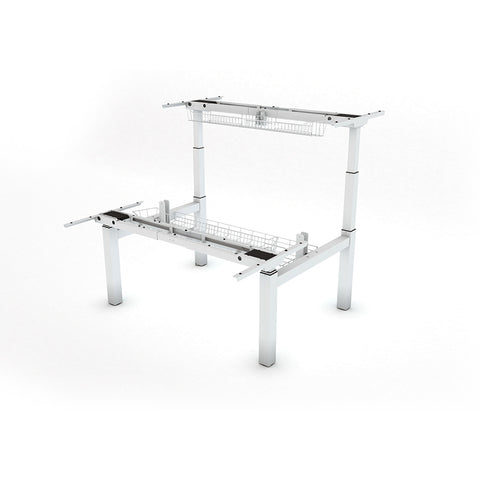 UNITY 2.2; Corporate Duo Bench System Bundle - White 1600