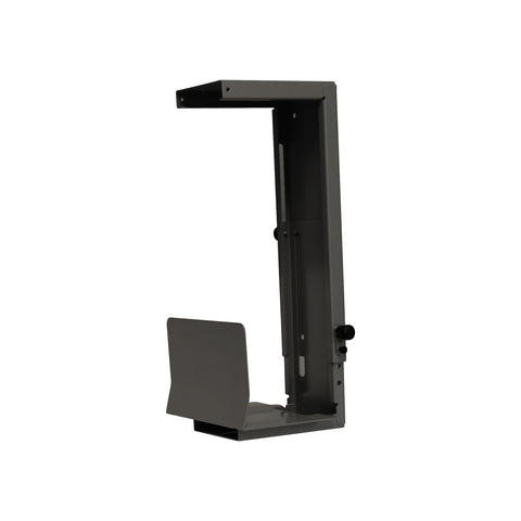 Large Standard CPU Holder - Black   (CPU width size 109mm to 227mm)